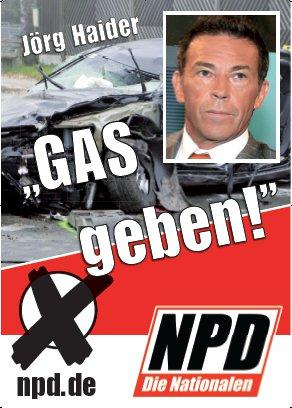 Partei gegen NPD: 'Gas geben' in Köpenick